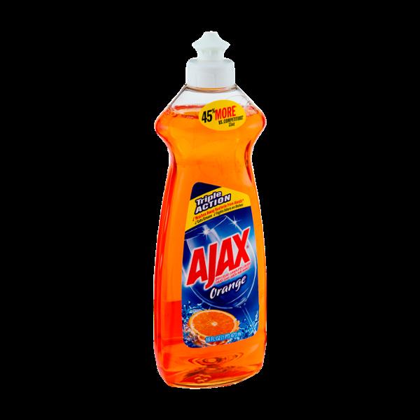 Ajax Orange Dish Liquid Hand Soap