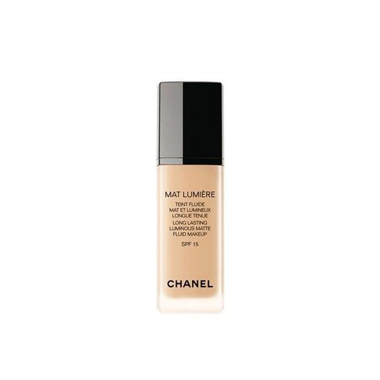CHANEL Mat Lumiere Long Lasting Luminous Matte Fluid Makeup SPF 15