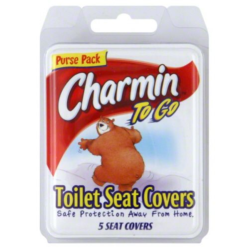 Charmin To Go Toilet Seat Covers (Pack of 24)