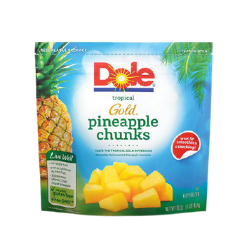 Dole Frozen Tropical Gold Pineapple Chunks