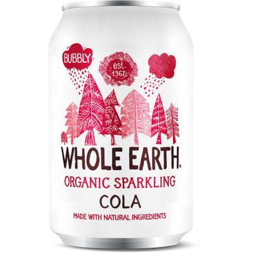 Whole Earth Organic Sparkling Drink Cola