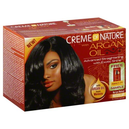 Creme of Nature Argan Oil Relaxer Kit