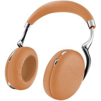 Parrot Zik 3 Wireless Noise Cancelling Bluetooth Headphones (Camel Leather-Grain)