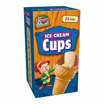 Kellogg's Keebler Ice Cream Cups - 3 oz. 24 Ct.
