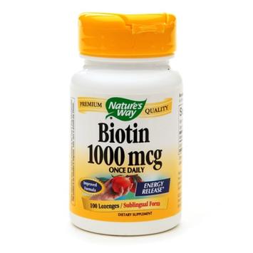 Nature's Way Biotin 1000mcg