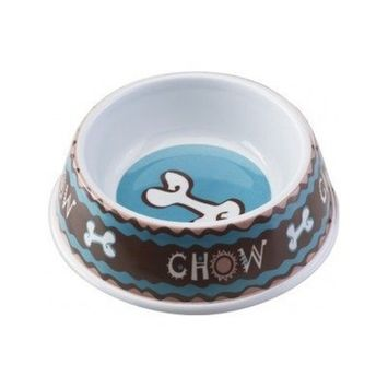 Ethical Dog Ethical Pet Products (Spot) Designer Chow No-Tip Plastic Dog Dish 8 Inch