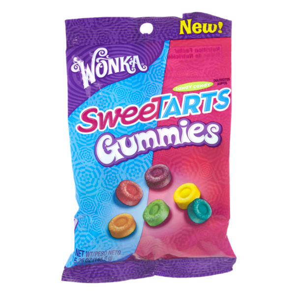 Wonka SweeTARTS Gummies Tangy Candy