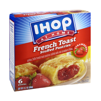IHOP At Home Strawberry French Toast Stuffed Pastries - 6 CT