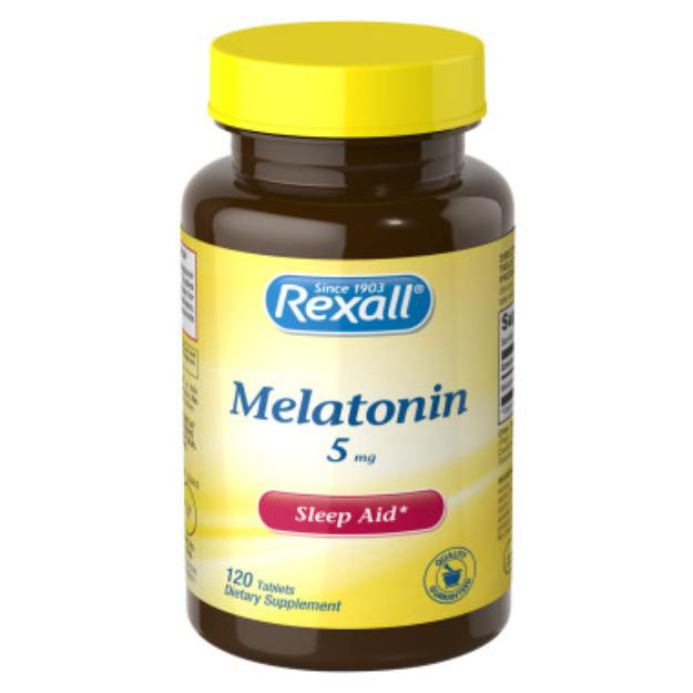 Rexall Melatonin 5 mg - Tablets, 120 ct
