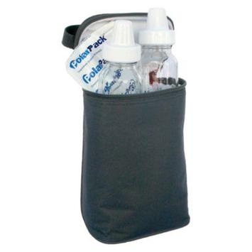 JL Childress TwoCOOL 2-Bottle Cooler - Black