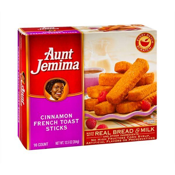 Aunt Jemima French Toast Sticks Cinnamon - 16 CT