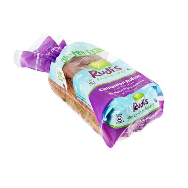 Rudi's Gluten-Free Sandwich Bread Cinnamon Raisin
