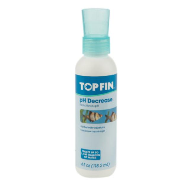 Top Fin pH Decreser Aquarium Water Conditioner