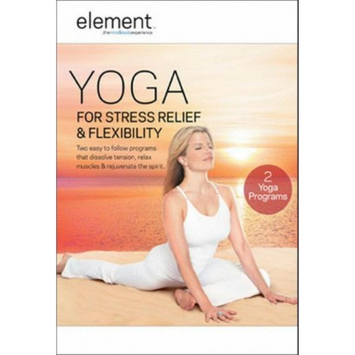 Anchor Bay/starz Element: Yoga For Stress Relief & Flexibility (DVD)