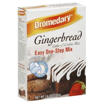 Dromedary Gingerbread Mix, 14-Ounce (Pack of 6)