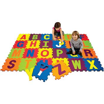 Best Brands Alphabet 4' x 4' Activity Play Mat