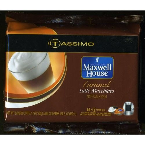 Tassimo Maxwell House Caramel Latte Macchiato T-Discs