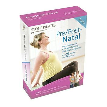 STOTT PILATES Pre/Post Natal 3 DVD Set