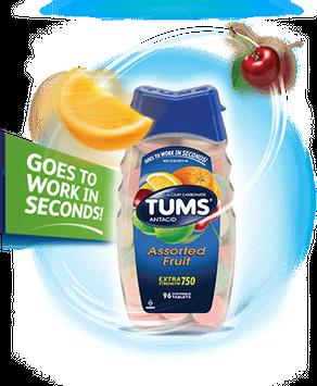 TUMS Extra 750 Fruit (Extra 750)