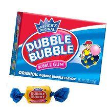 Dubble Bubble Twist Bubble Gum