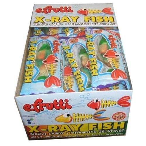 E. Frutti E.Frutti Gummy X-Ray Fish 36 Count