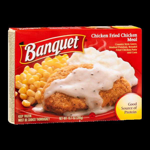 Banquet Chicken Fried Chicken Meal