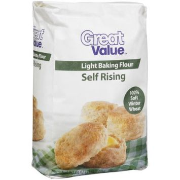 Wal-mart Stores, Inc. Great Value Light Baking Self Rising Flour, 80 oz