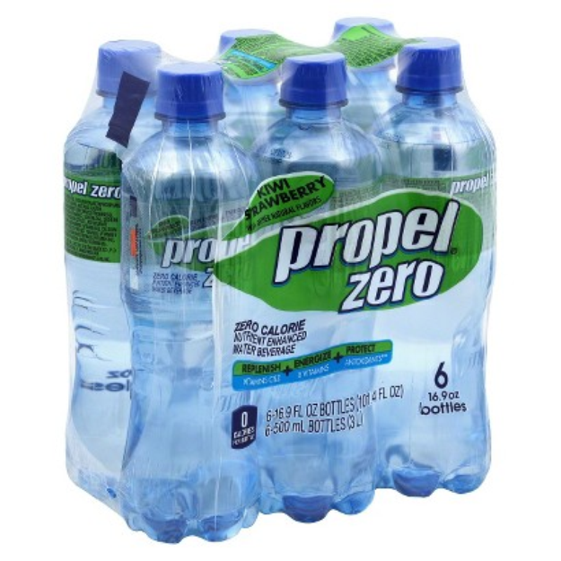 Propel Zero Kiwi Strawberry Nutrient Enhanced Water 16.9 oz, 6 pk