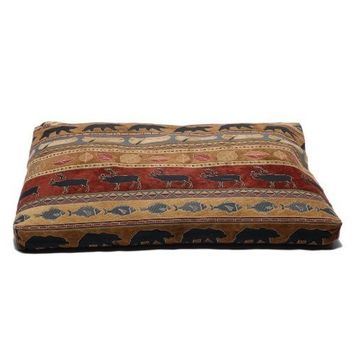 CPC Northwoods Tapestry Large, Pet Bed, Red