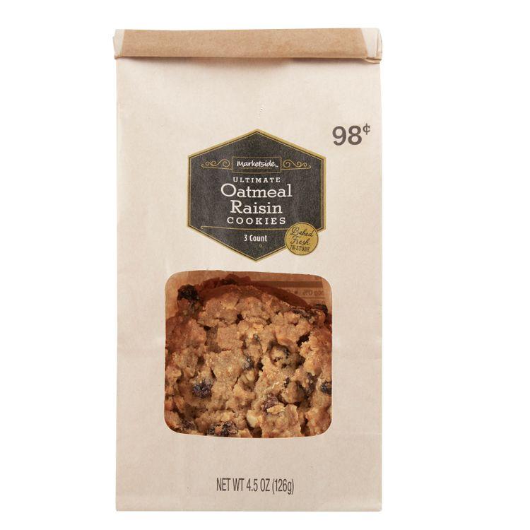 Marketside® Ultimate Oatmeal Raisin Cookies