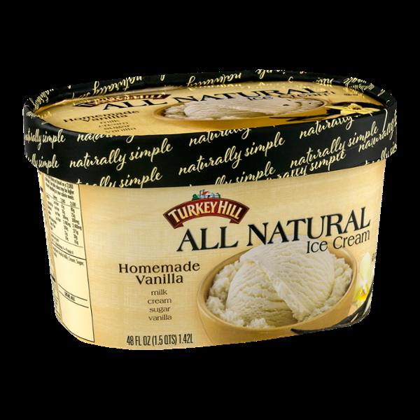 Turkey Hill All Natural Ice Cream Homemade Vanilla