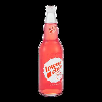 Towne Club Peach Soda