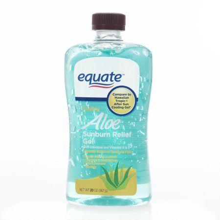 Equate Aloe Sunburn Relief Gel