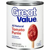 Great Value : Tomato Puree