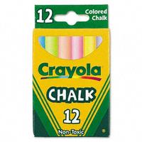 Kmart.com Crayola Nontoxic Chalk, Assorted Colors, 12 Sticks per Box