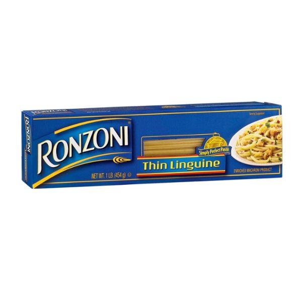 Ronzoni Enriched Macaroni Product Thin Linguine