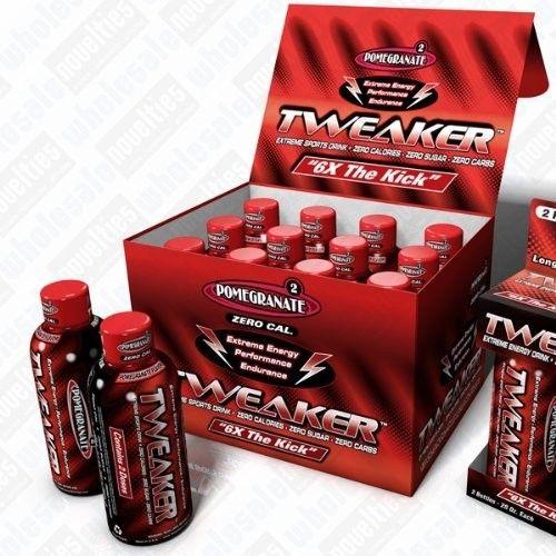 24 Pack - Tweaker Energy - Pomegranate - 2oz.