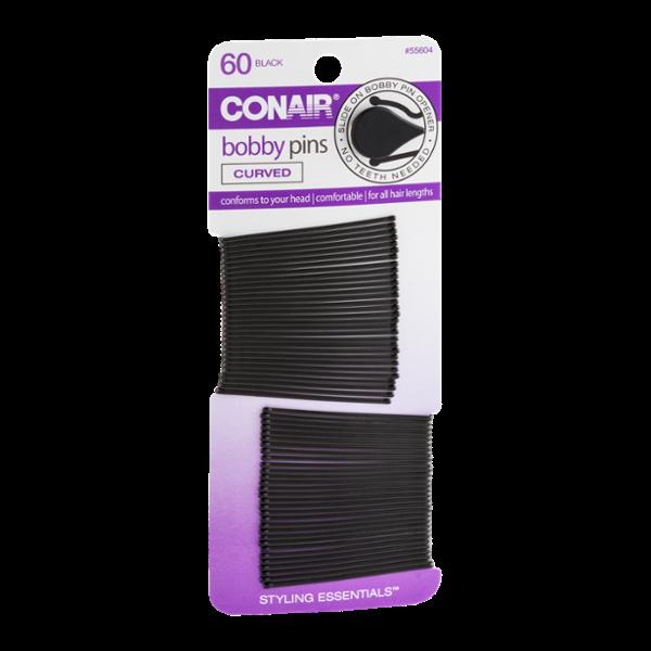Conair Bobby Pins Black - 60 CT