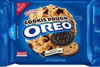 Nabisco Oreo Sandwich Cookies Chocolate Dough Flavor