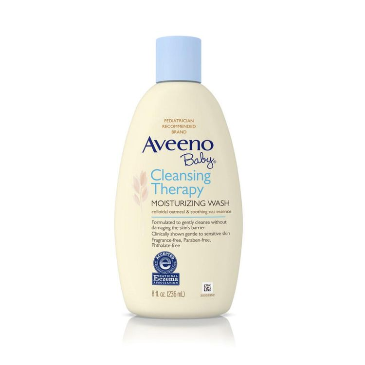 AVEENO® Baby® Cleansing Therapy Moisturizing Wash
