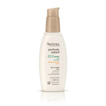Aveeno® Positively Radiant® CC Cream Broad Spectrum SPF 30