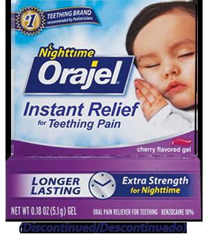 Orajel™ Medicated Nighttime Teething Gel