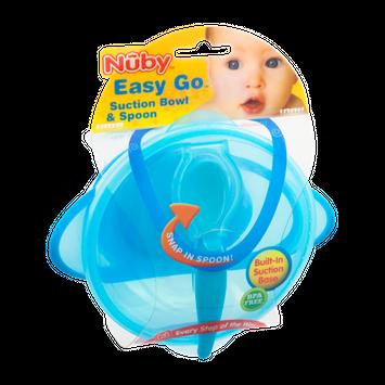 Nuby Easy Go Suction Bowl & Spoon
