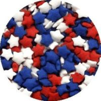 Ck Products Star Sprinkles - Red, White, & Blue