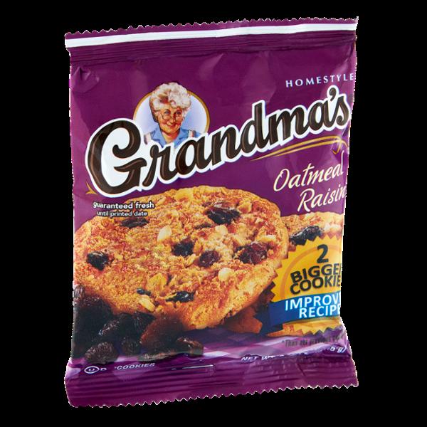 Grandma's Brand Homestyle Oatmeal Raisin Cookies - 2 CT