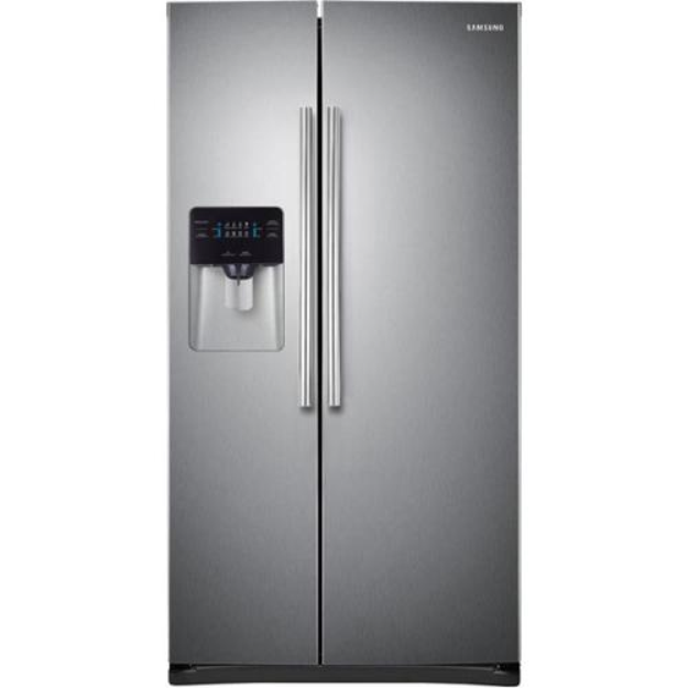 """Samsung 36"""" Side-by-Side Refrigerator with 25 cu. ft. RS25H5000SR"""