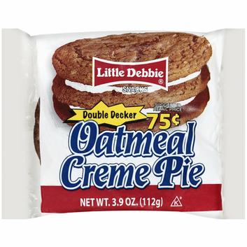 Little Debbie® Double Decker Oatmeal Creme Pie Snacks