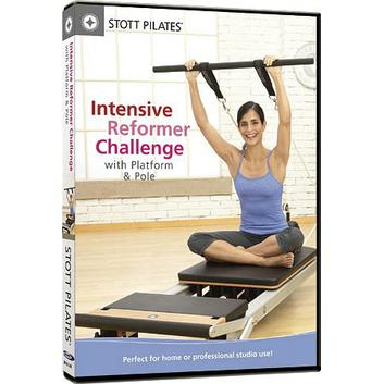 STOTT PILATES DVD - Intensive Reformer Challenge with Platform & Pole