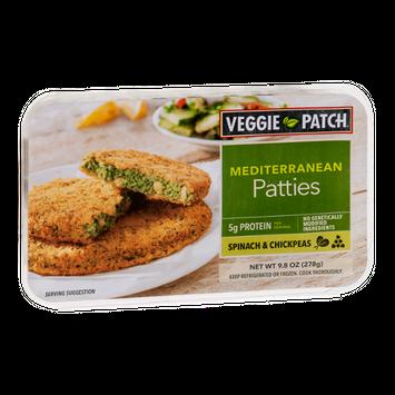 Veggie Patch Mediterranean Patties Spinach & Chickpeas