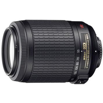 Nikon 55-200mm Digital Telephoto Zoom Lens - f/ 4-5.6G ED-IF AF-S DX
